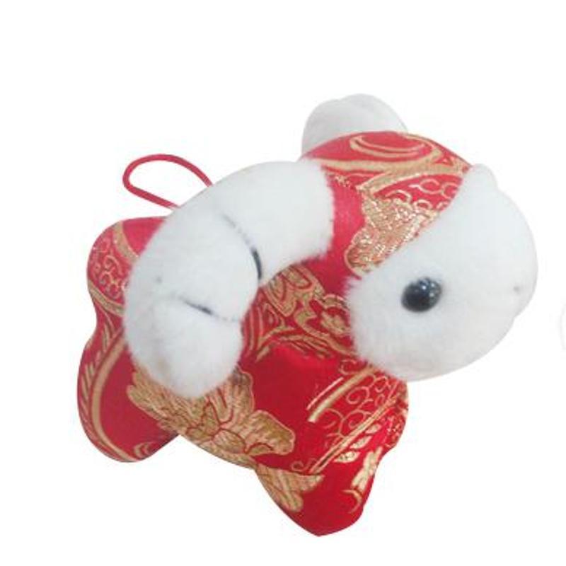 debai可爱羊年毛绒玩具摆件可爱公仔