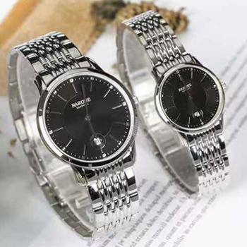 雷诺手表超薄防水时尚石英男表8320139女表8320138情侣表