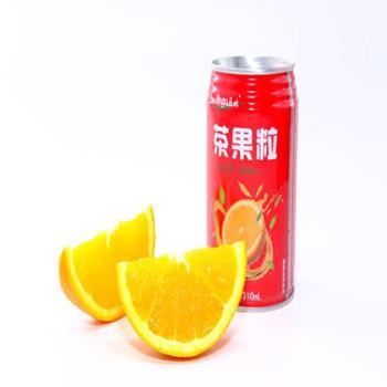 屈姑橙果粒·茶果粒饮料 310mL *20