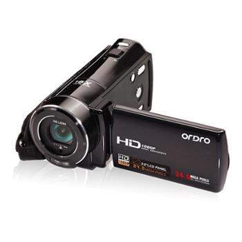 欧达HDV-V7 高清数码摄像机16倍数码变焦2400万像素