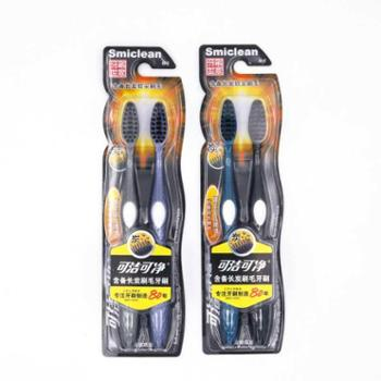 可洁可净牙刷DK1031含备长炭2支装