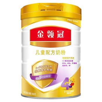 伊利金领冠4段(3-6岁)儿童配方奶粉900g