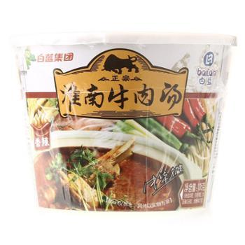 白蓝味中味淮南牛肉汤香辣味105g桶装