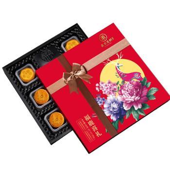 嘉禾月 福鹿喜礼月饼礼盒580g