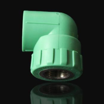 美尔固纳米抗菌管件6分2512ppr内丝弯头