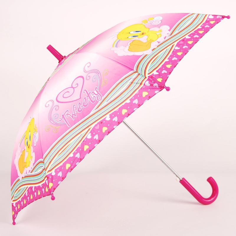 晴雨两用自动遮阳伞 崔弟卡通环保可爱儿童伞小雨伞