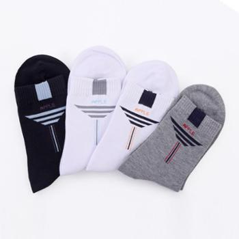 苹果牌休闲袜 男袜 吸汗袜 棉袜 高品质袜子 厂家直销 12双(0152款)
