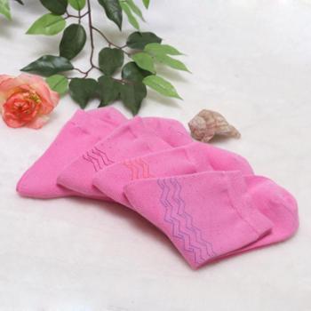 【开业酬宾】-女士纯色中筒竹棉袜子竹纤维中高筒袜纯棉防臭商务休闲袜
