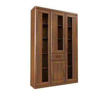 双叶家具 现代中式 实木 储物书柜