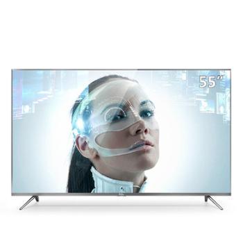 TCLD55A730U55英寸30核人工智能纤薄金属机身HDR4K液晶电视机(锖色)