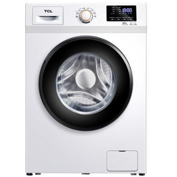 TCLXQG80-P300B8公斤全自动变频滚筒洗衣机中途添衣静音