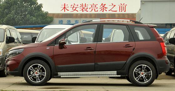 2013年 2014款东风景逸x5改装专用车窗饰条 景逸x5条