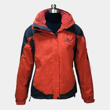 极限户外 皓雪两件套二合一防水防寒冲锋衣 女款