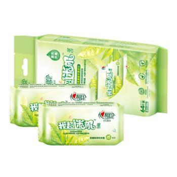 心相印湿巾 茶语系列8片8包迷你小包装