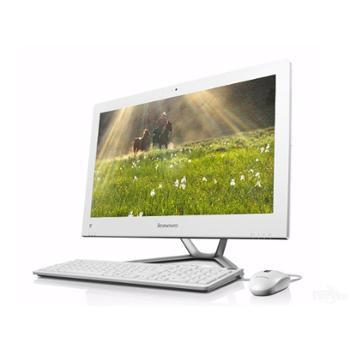 联想家用一体机电脑C560双核G18204G500G23英寸黑白2G独显