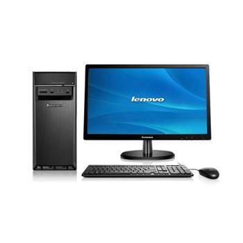 联想H5055家用台式机(AX48404G1T2G独显DVDWin8)标配主机+21.5英寸IPS显示器