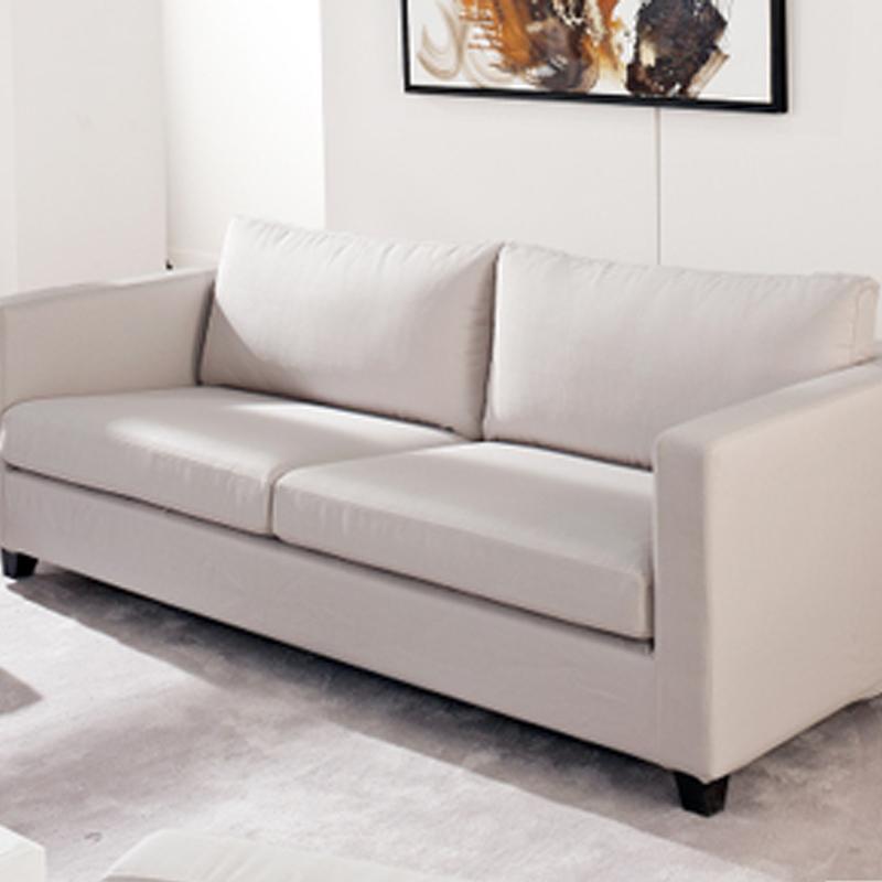 品牌家具 全实木框架 现代简约韩式布艺沙发