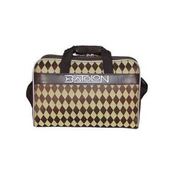 宝龙旅行拉杆登机商务箱包编织菱格旅行包袋