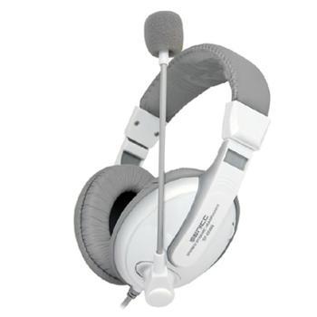 硕美科ST-2688时尚游戏耳机头戴式电脑语音耳麦潮带麦克风(玖融分期购)