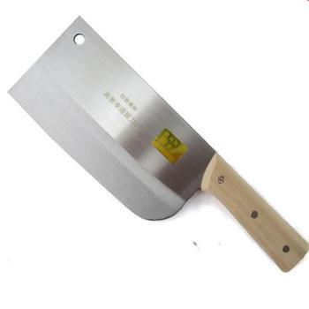高密李进菜刀切片刀不锈钢厨师刀切肉切菜刀手工锻打厨房家用