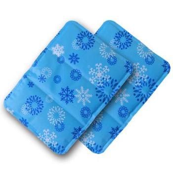 冰垫坐垫夏天凉垫水垫椅垫汽车坐垫冰枕头宠物夏季降温冰垫2个装(玖融)