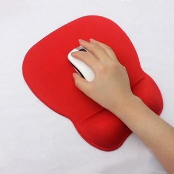 梦天记忆棉护腕鼠标垫护腕托电脑办公加厚纯色手枕腕垫保护手腕
