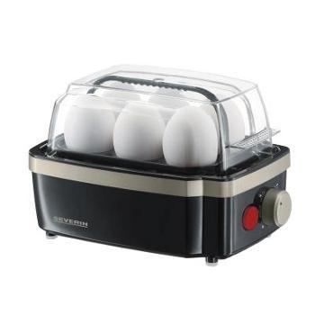 德国SEVERIN多功能蒸蛋器煮蛋机蒸蛋羹家用厨房全自动6枚多档调节