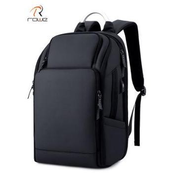 双肩包男多功能商务出差旅行包大容量17寸电脑包休闲书包防盗背包