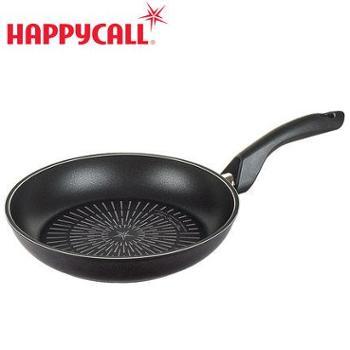 HAPPYCALL 韩国进口 等离子钛不粘锅 平底煎锅电磁炉燃气通用24cm