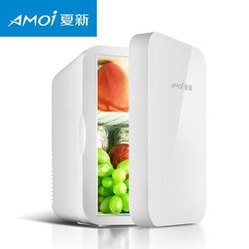Amoi夏新6L迷你冰箱家用小型宿舍学生制冷单人车家两用车载小冰箱