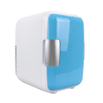 靖童4升车载冰箱迷你冷暖小冰箱4L车家两用小型宿舍家用冷藏箱