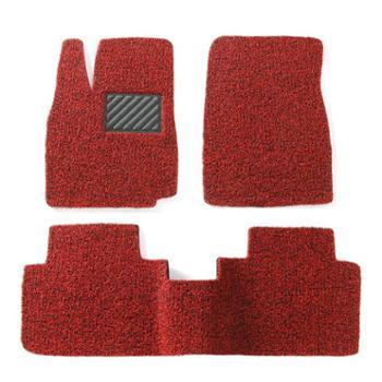车美雅汽车丝圈脚垫专车专用定制防水防滑耐脏易洗速干可裁剪 14毫米-五座专用