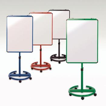 VIZ-PRO白板支架式移动白板家用办公教学写字板黑板看板记事留言书写磁力家用儿童磁性小涂鸦画板70*100cm