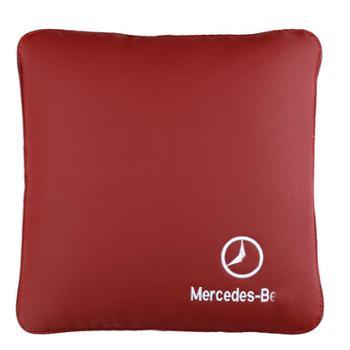 奔驰汽车空调被子两用抱枕被多功能腰靠C200LGLCE300L内饰改装