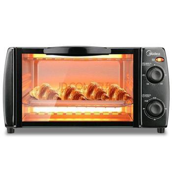 美的烤箱T1-L108B 多功能迷你智能烤箱