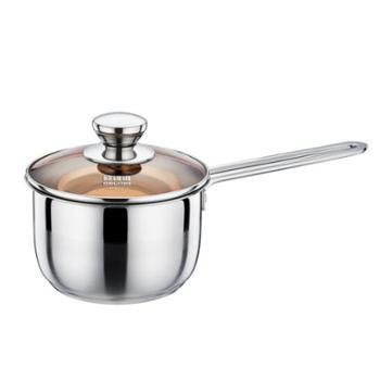【佳博利】欧锐铂ORB-086皇室壹号-复合钢单柄奶锅