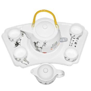 联创郑板桥系列陶瓷套装水壶DF-EP1218M