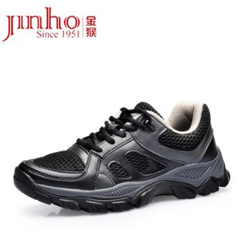 Jinho/金猴作训女鞋时尚高帮系带女鞋迷彩休闲鞋户外登山鞋女M60218A/B/C