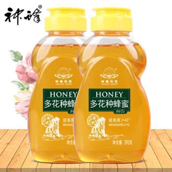 农大神蜂百花蜜390g/瓶*2瓶