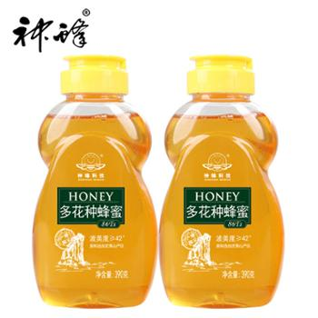 农大神蜂 百花蜂蜜 390g/瓶*2