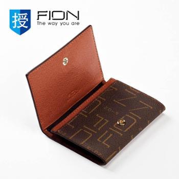 菲安妮FIONFIN/BRN/W09啡色/名片包