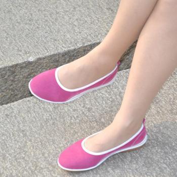 【秒杀 断码清仓】夏季新品真牛皮舒适妈妈女鞋 橡胶软底女单鞋开车鞋