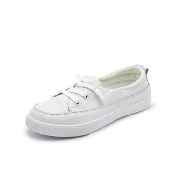 夏季经典百搭小白鞋 轻便休闲时尚女潮鞋 WKM36