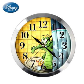 Disney/迪士尼时尚简约超静音卡通石英挂钟(8寸)C4012WW