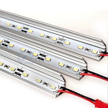 LED硬灯条珠宝柜台展柜灯条12V5630贴片72珠超高亮