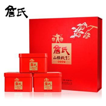 【安徽馆】詹氏山核桃仁礼盒120gx4罐红动中国红礼盒