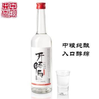 开畅白42度光瓶白酒500ml【中粮我买网】