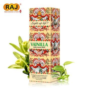 RAJ印度香香草Vanilla印度原装进口手工草本香薰熏香线香085 大盒