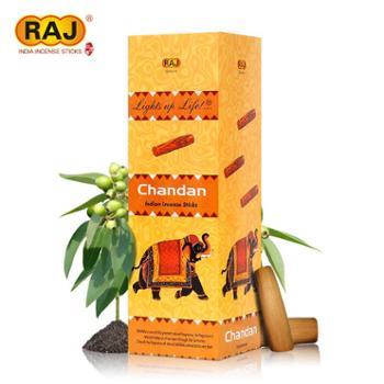 RAJ印度香檀香Chandan正品印度原装进口手工香薰熏香线香072 大盒