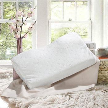富安娜出品 圣之花家纺枕头枕芯 蝶型慢回弹枕